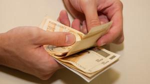 Dinheiro mao