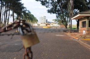 Ruínas da Usina Galo Bravo, em Ribeirão Preto, que encerrou suas atividades em 2010