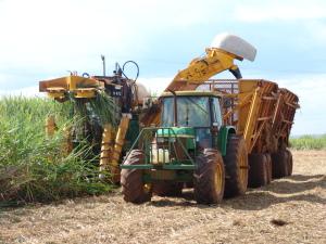 2007-06-21 Colheita Mecanizada Maquina Moagem Cana Usina Jardest (8)