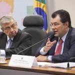 Braga, ministro do MME na audiência pública no Senado: previsões