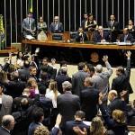 Plenário da Câmara: ajuste fiscal deve entrar em discussão