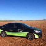 Veículo a etanol percorrerá o percurso do projeto