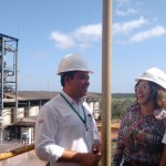 Odevaldo Martins Quim, Maria Teresa Possas e Nelson Ferreira, gerente da Itapecuru