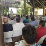 Nastari, no evento da Giasa: perspectivas sobre preço da tonelada de cana (Foto: Divulgação)