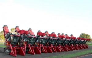 As máquinas vão para o campo nestes últimos meses da safra (Foto: Divulgação)