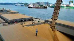 Porto de Santos, principal escoadouro do açúcar VHP para o exterior (Foto: Divulgação)