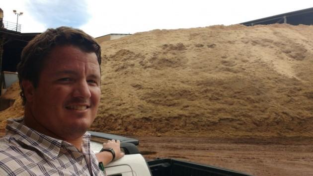 Valler, diretor da Destilaria Londra: safra ininterrupta e moagem de 1 milhão de toneladas