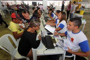 Cadastro para o programa em Pernambuco (Foto: Divulgação)