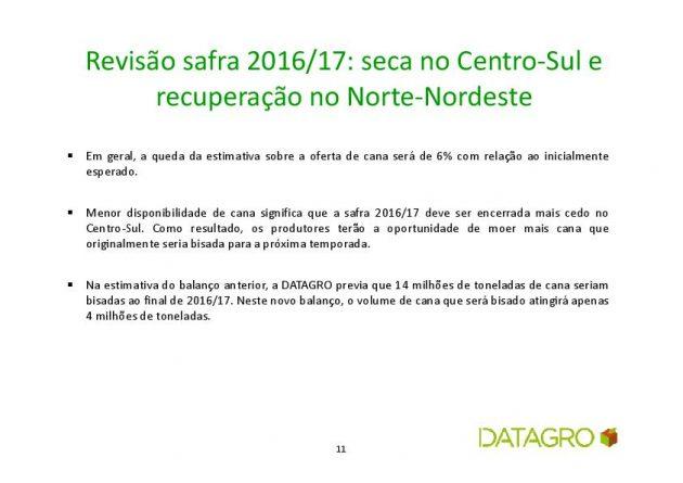 Datagro - previsão safra