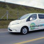 Protótipo do Nissan E_bio_fuel_cell